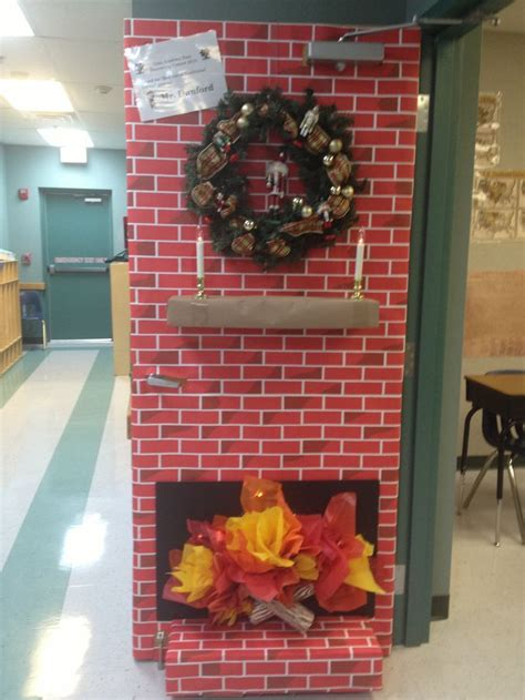awesome  holiday door  apple   teacher