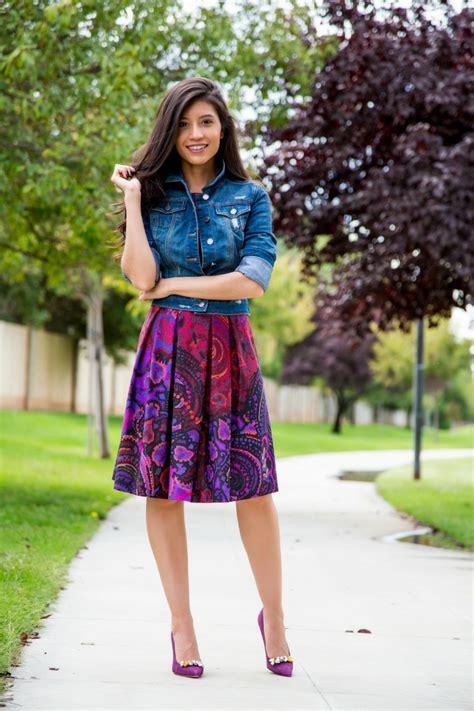 kleid mit jeansjacke jeansjacke kombinieren 25 coole herbst