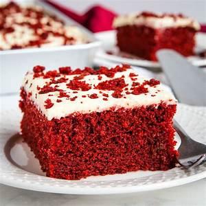 Easy One Bowl Red Velvet Cake
