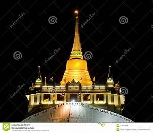 The Golden Mount In Bangkok, Thailand Royalty Free Stock ...