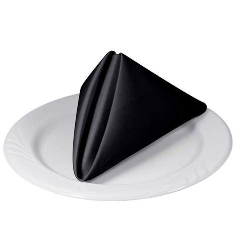 Schwarze Servietten by Black Napkins The Restaurant Manifesto