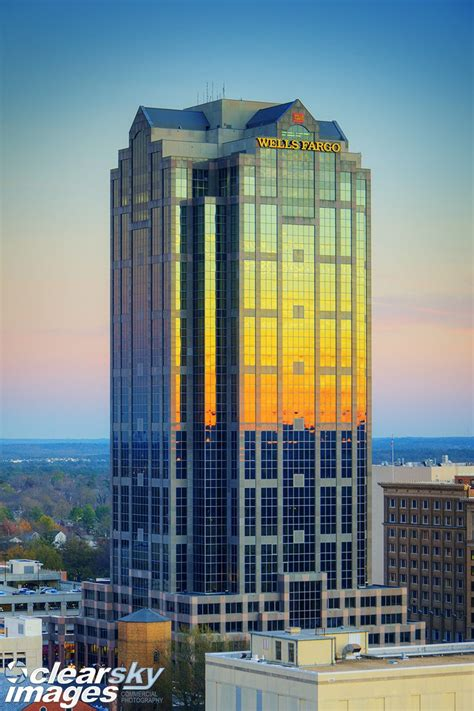 wells fargo building  raleigh nc architecture