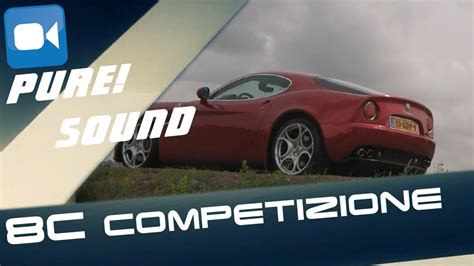 alfa romeo  competizione pure acceleration sound youtube