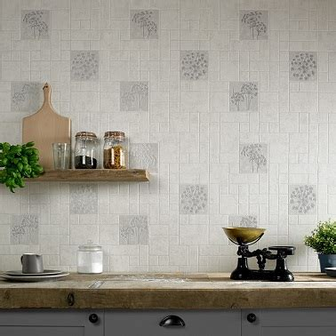 papier peint trompe l oeil cuisine papier peinture trompe luil carrelage de cuisine with