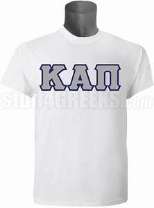 kappa alpha pi men39s greek letter screen printed t shirt With pi kappa alpha letter shirts