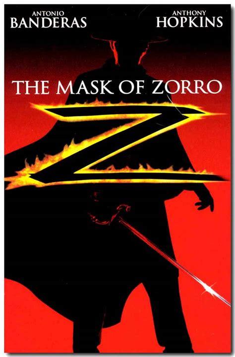 zorro mask 1998 movie movies poster antonio banderas posters friday romance wanted critic club