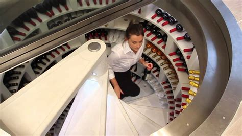 spiral wine cellar in kitchen floor restaurant scenario white spiral cellar and retractable 9374