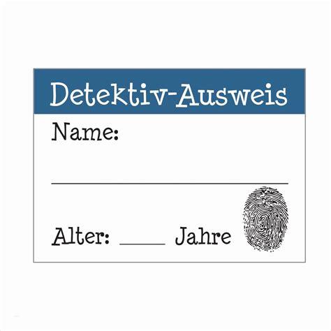 detektivausweis zum ausdrucken fotos kindergeburtstag