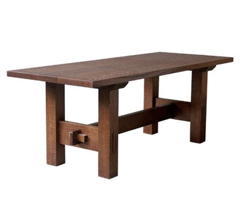 Dining Table Arts Crafts Style Dining Table