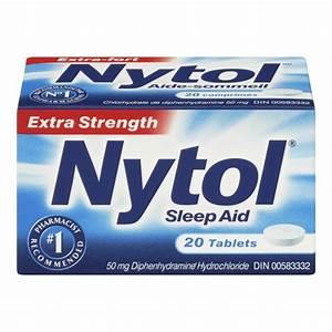 Buy Nytol Extra Strength Sleep Aid Tablets In Canada