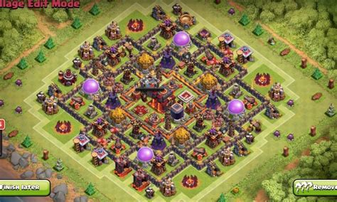 12 new farming layouts th9 for clash of 3 th10 layouts with 2 air sweeper for league 12 n