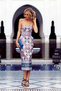 Picture Of amazing spring wedding guest outfit ideas 17