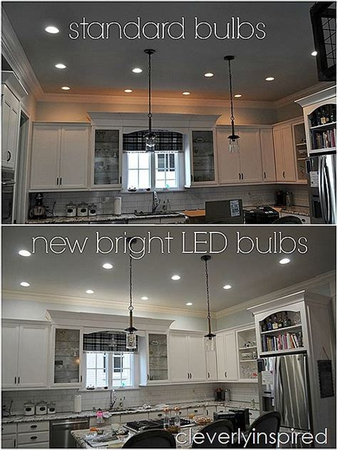 best recessed lighting for kitchen best 25 led kitchen ceiling lights ideas on 7775