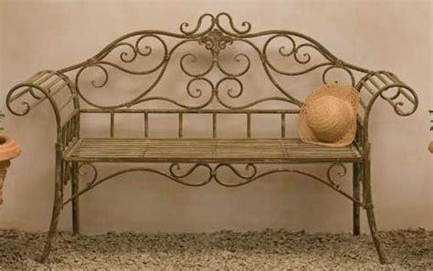 divanetto in ferro battuto divanetto ferro battuto marrone etnico outlet mobili