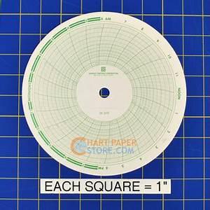 Barton Chart Recorder Price Bristol 3810 Circular Charts