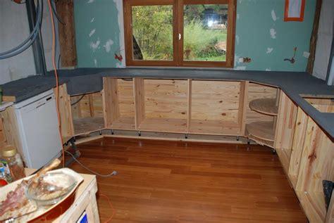 liaisin bois syporex et beton ciré