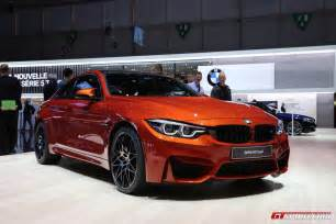 cars bmw geneva 2017 bmw m4 facelift gtspirit