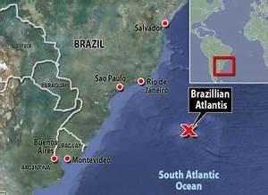 The 'Brazilian Atlantis': Geologists find part of hidden ...