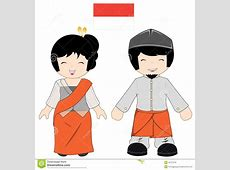 Traditional clipart indonesian person Pencil and in