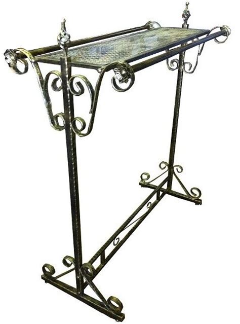 decorative metal garment rack display garment rack decorative clothing rack rolling