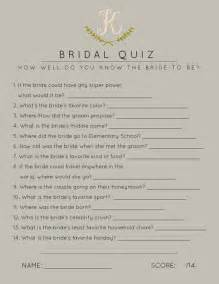 Trivia Questions For Bridal Shower by Heavens To Betsy Bridal Shower Games