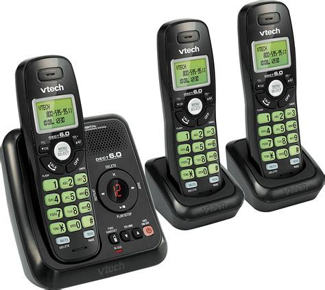 Best Buy: VTech CS612031 DECT 6.0 Cordless Phone with