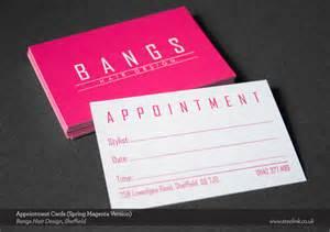 business cards design bangs hair design steel ink independent design studio in sheffield
