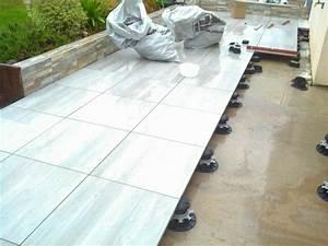 Dalle Sur Plots : carrelage terrasse ~ Farleysfitness.com Idées de Décoration