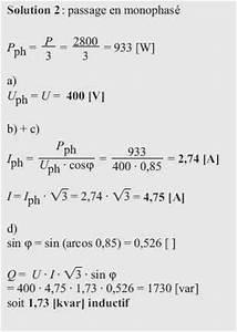 Formule Puissance Electrique : puissance lectrique triphas formule capteur ~ Dode.kayakingforconservation.com Idées de Décoration