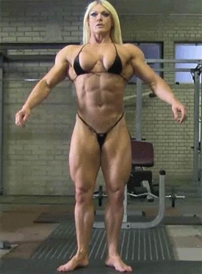 Fitness Muscular Muscle Lisa Cross Female Bodybuilding