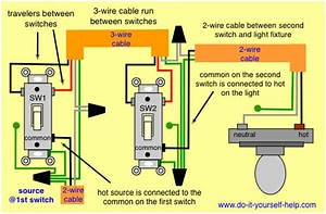 Wiring Diagram For 3 Way Light Switch - Collection