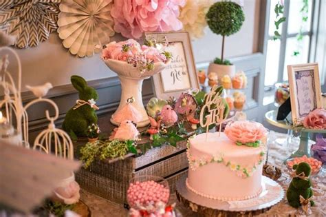 Decorating Ideas For Baby Shower by Enchanted Garden Baby Shower Ideas Baby Shower