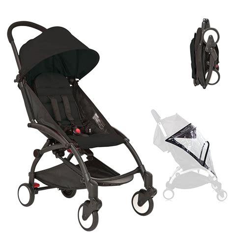 Range Rover Stroller by Black Compact Lightweight Baby Stroller Pram Easy Fold