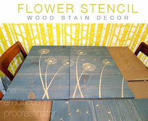diy design ideas flower stencil wood stain decor With what kind of paint to use on kitchen cabinets for letter stencils for wall art