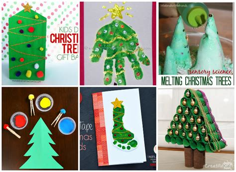 Creative Christmas Tree Crafts And Activities For Kids Round Kitchen Sink Fasteners Brands Of Sinks Can You Plunge A Tapware Tap Stainless Steel Undermount Single Bowl 1.5