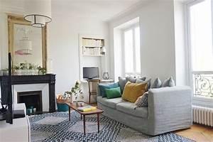 Décoration Intérieure Salon : appartement paris 14 un f2 devenu f3 en moins d 39 un mois c t maison ~ Teatrodelosmanantiales.com Idées de Décoration