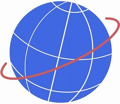 Globe Clipart Orbit Clip Earth Vector Transparent