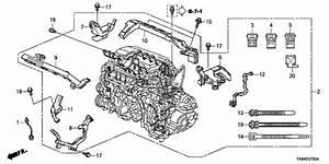 2012 Honda Odyssey 5 Door Ex Ka 5at Engine Wire Harness