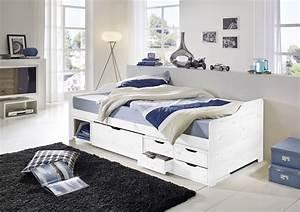 Bett Hochglanz Weiß 90x200 : bett weis mit schubladen alles ber wohndesign und m belideen ~ Markanthonyermac.com Haus und Dekorationen