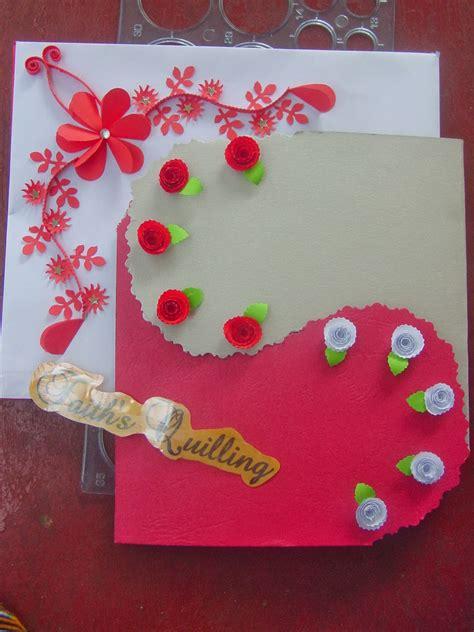 faiths quilling birthday card