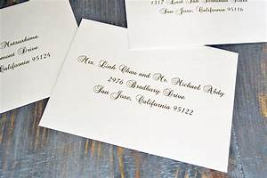 how to address wedding invitation envelopes paper lace With wedding invitations only one envelope