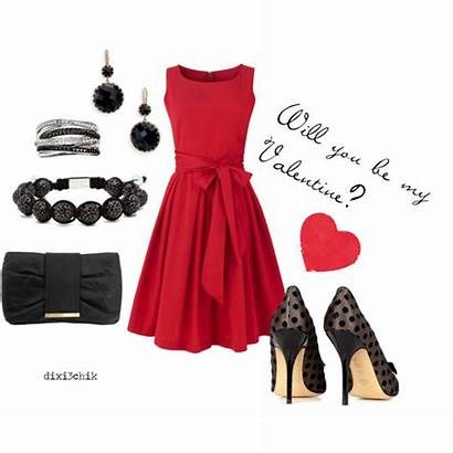 Polyvore Outfits Valentines Dresses Valentine Christmas Shoes
