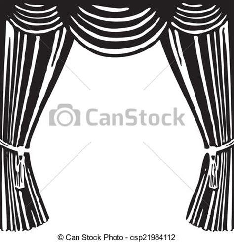 clip vecteur de th 233 226 tre rideau ouvert th 233 226 tre rideau a symbole csp21984112
