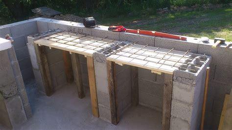 construire cuisine d été cuisine d ete en beton cellulaire simple au dernier tage