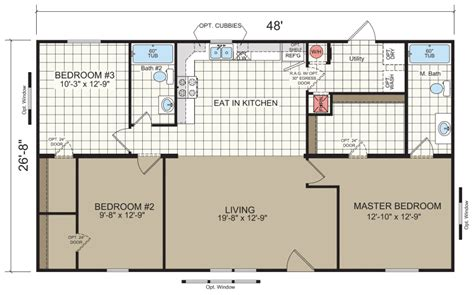 mobile home floor plans   read  understand  mhvillager