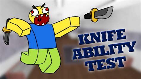 knife ability test kill aura roblox scripts