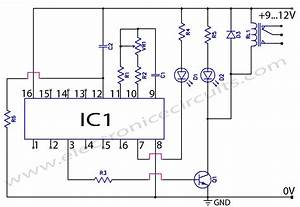 Cd4060 Timer Circuit 1 Minute To 2 Hours