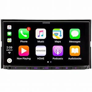 Kenwood Ddx9704s Double Din 6 95 U0026quot  In Cd  Am  Fm Receiver With Hdmi  Bluetooth  Built