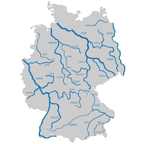 fluesse  deutschland die  laengsten fluesse  deutschland