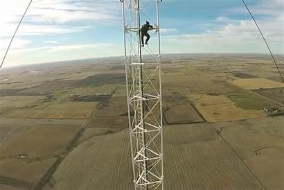 Tower Radio Climbing Safety Foot Stupid Tallest